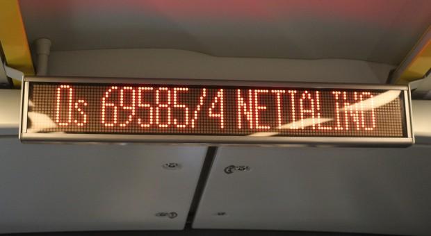 Informacja o Netialino na trasie (fot.mat.pras)
