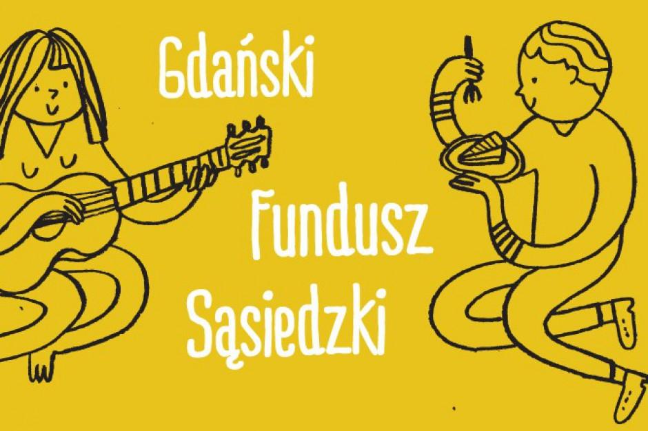 Gdańsk ceni dobre sąsiedztwo. Są granty na inicjatywy obywatelskie
