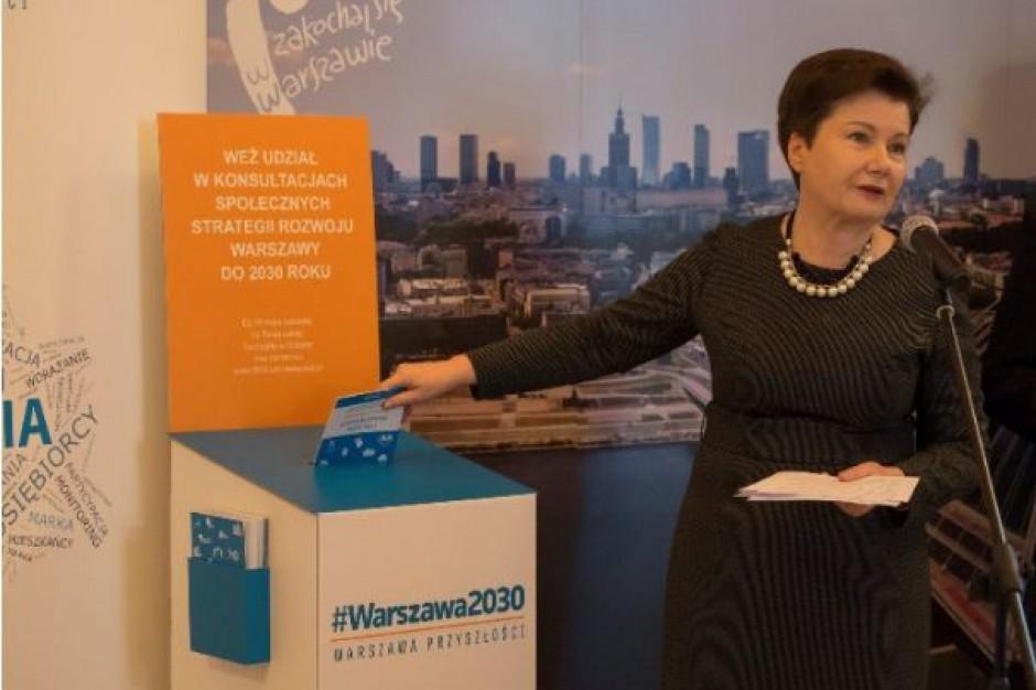 Projekt strategii rozwoju Warszawy do 2030 r. gotowy. Czas na konsultacje