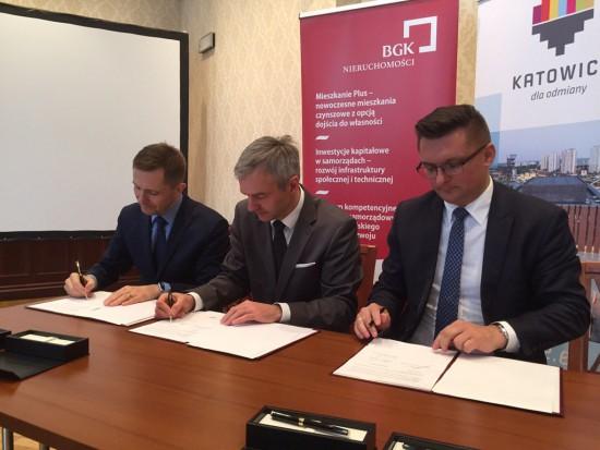 Mieszkanie Plus: Katowice podpisały umowę na budowę nowych mieszkań