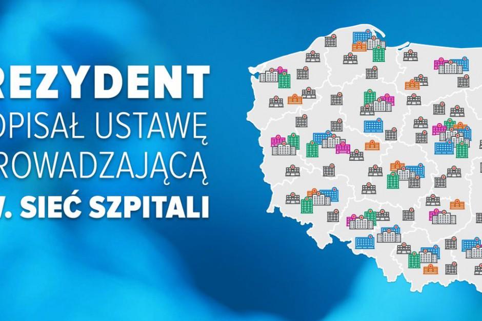 Sieć szpitali stanie się faktem. Andrzej Duda podpisał ustawę