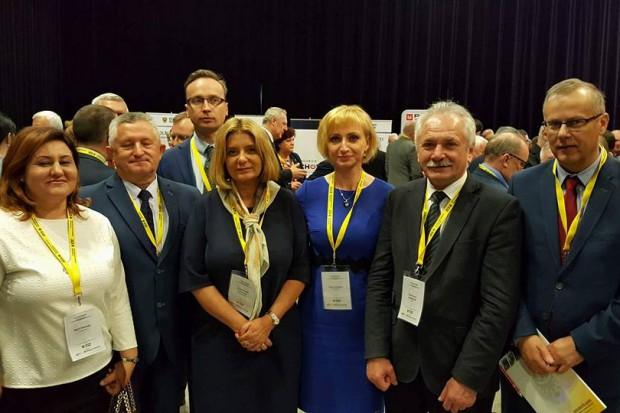 Przedstawiciele regionu świdnickiego na III Dolnośląskim Kongresie Samorządowym (fot. UM Świdnica)