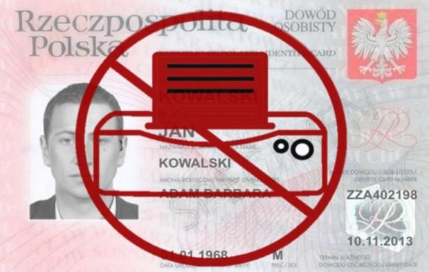 Kopiowanie dowodów osobistych przez firmy telekomunikacyjne bezprawne