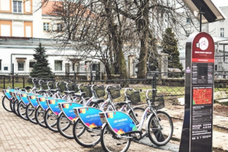 W Łodzi powstaną kolejne stacje roweru miejskiego