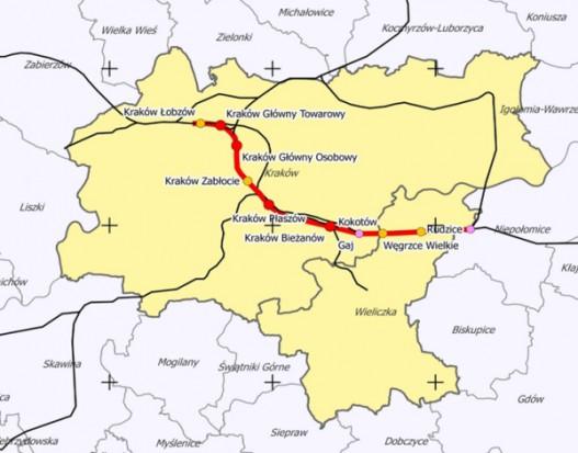 Projektowana trasa (fot.mib.gov.pl)