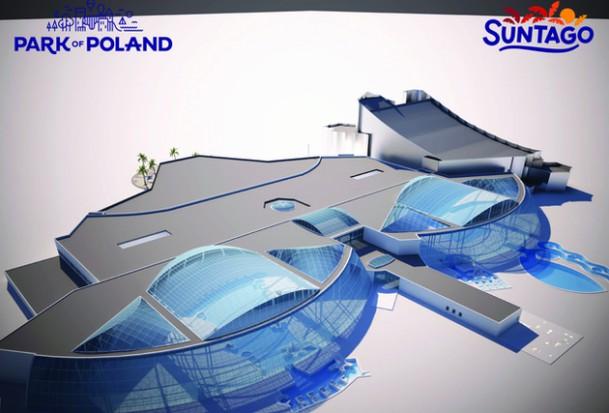 Suntago Wodny Świat i Park of Poland: Rusza budowa największego parku rozrywki w Europie Środkowej