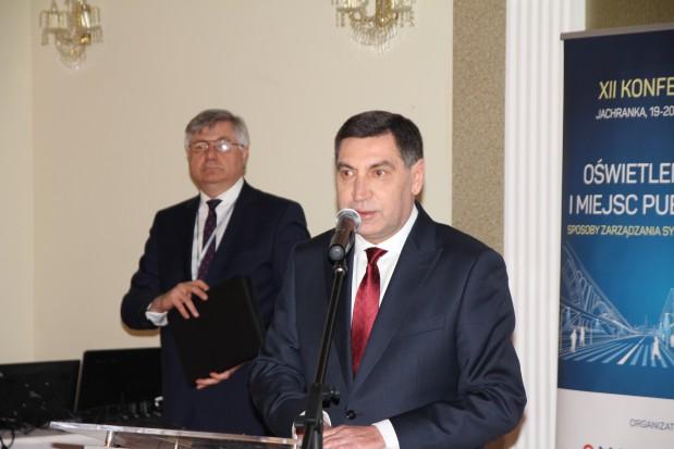 Na zdjęciu (od lewej) dyr biura PTPiREE Wojciech Tabiś i Wojciech Lutek, prezes zarządu PGE Dystrybucja (fot.mat.pras.)