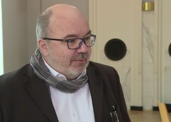 Jarosław Matuszewski, przewodniczący Sekcji Wydawców Edukacyjnych Polskiej Izby Książki (fot.newseria)