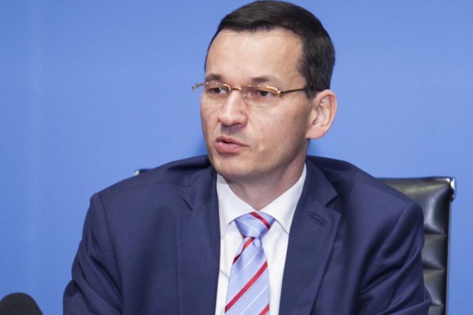 Mateusz Morawiecki: Podniesiemy w tym roku kwotę wolną od podatków