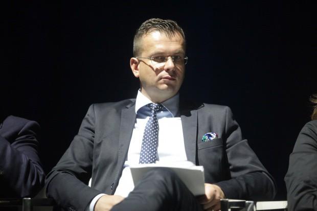 Wiceminister rozwoju Adam Hamryszczak (fot.PTWP)