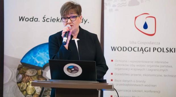 Dorota Jakuta, prezes Izby Gospodarczej Wodociągi Polskie (fot.facebook)