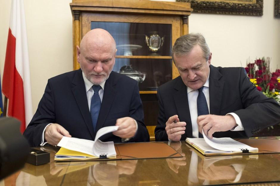 Piotr Gliński: Rewitalizacja toruńskiej Starówki największym projektem ze środków UE