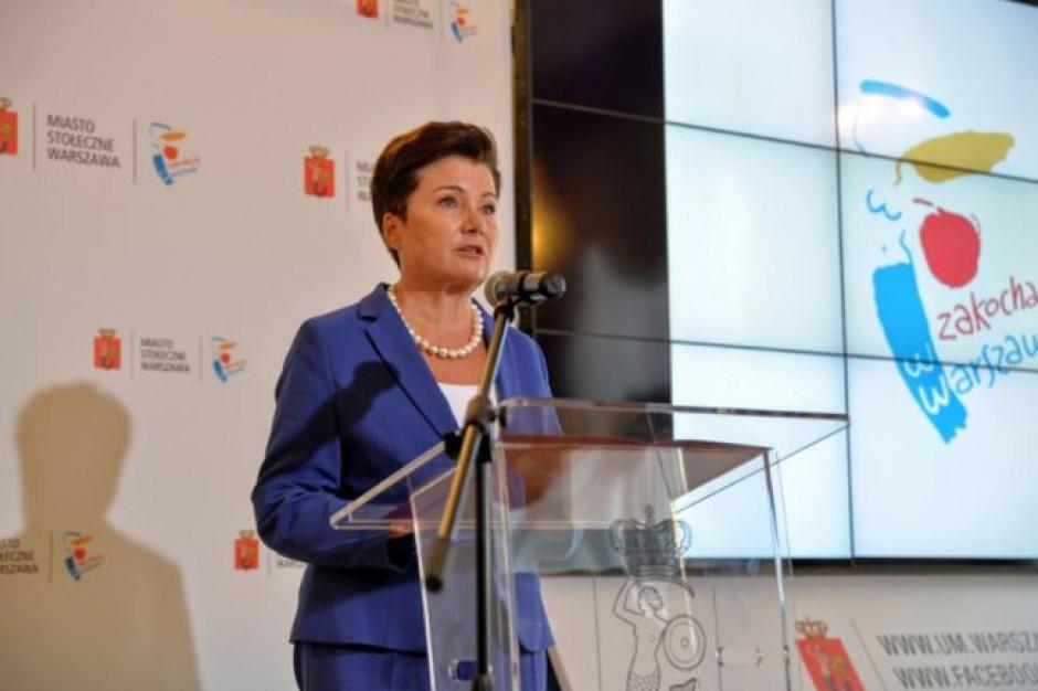 Hanna Gronkiewicz-Waltz napisała list do ministra sprawiedliwości ws. delegalizacji ONR