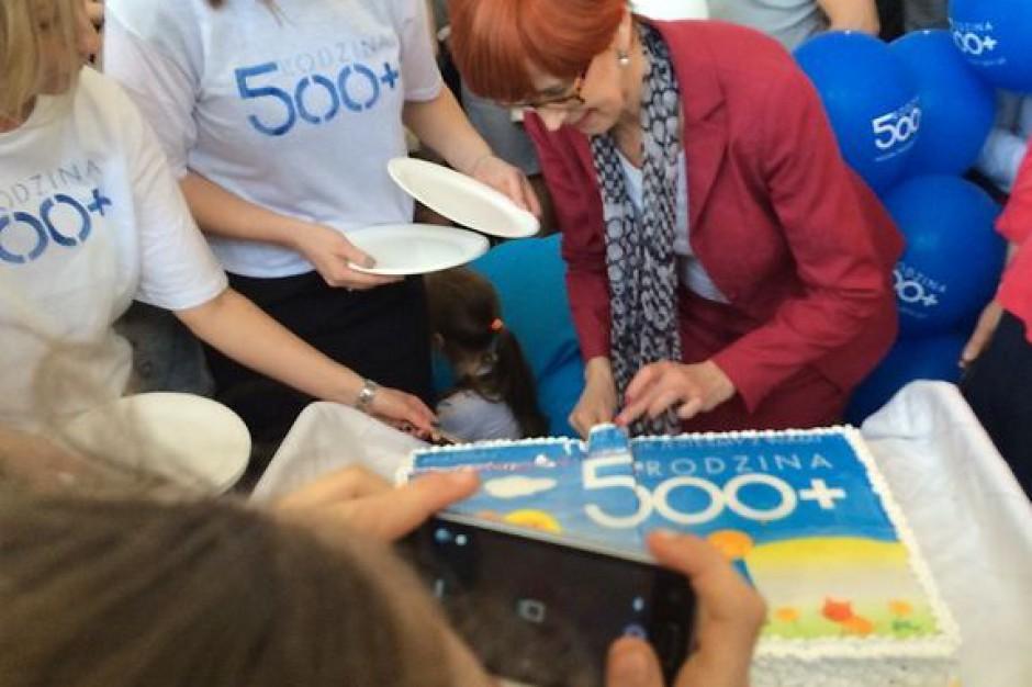 Rząd podsumował rok Programu 500 Plus. Pieniądze trafiły do ponad 3,9 mln dzieci