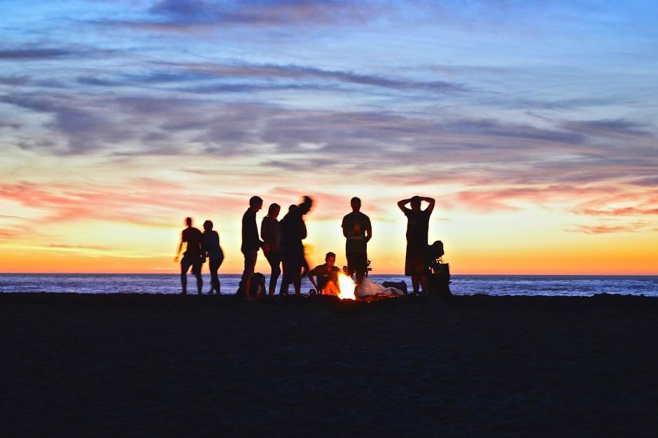 Czy można palić ognisko na plaży? Tak, ale tylko za zgodą