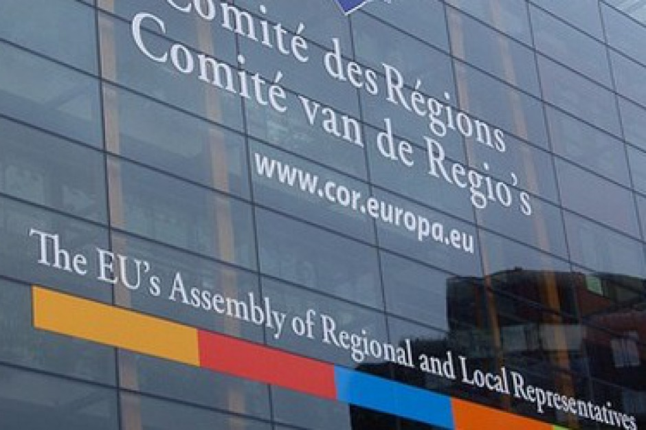 Bruksela: Sesja plenarna Komitetu Regionów