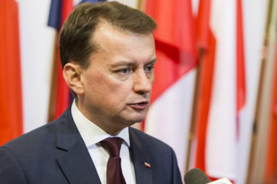 Mariusz Błaszczak: Hanna Gronkiewicz-Waltz ponosi odpowiedzialność polityczną za Warszawę od 2006 r.