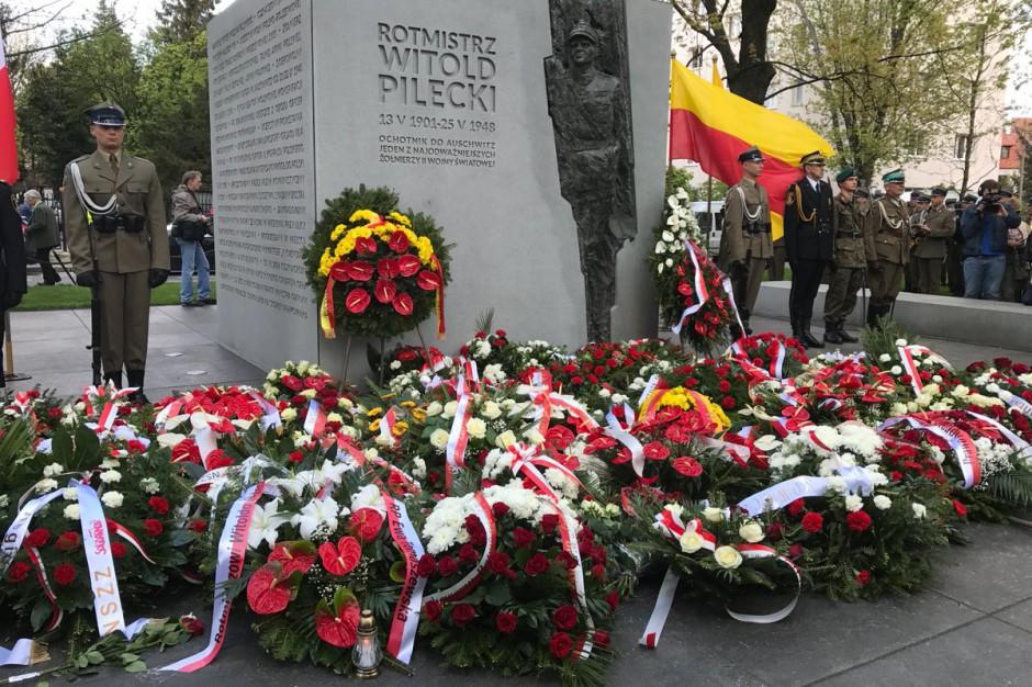 W Warszawie odsłonięto pomnik rtm. Witolda Pileckiego