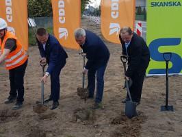 Warmińsko-Mazurskie: Rusza budowa ronda na skrzyżowaniu dróg krajowych nr...