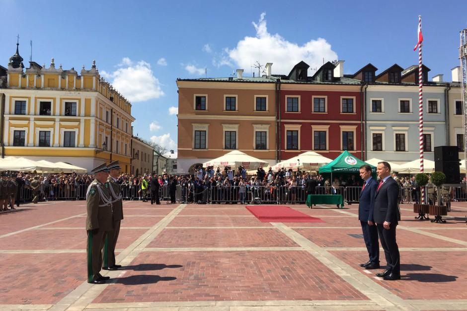 Prezydent chwali Zamość: To miasto wrośnięte w polską tradycję i historię
