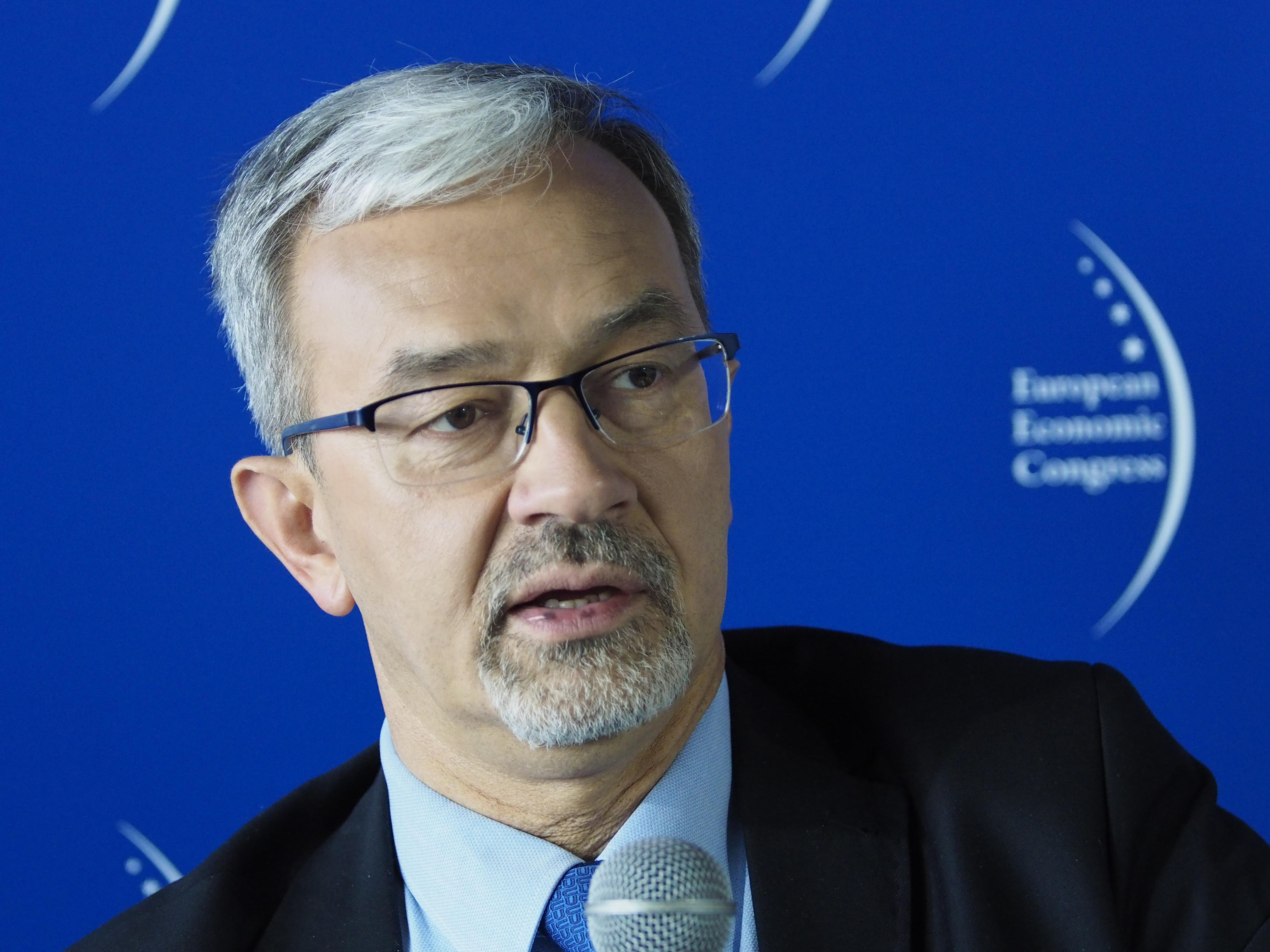 - Oczekujemy, że przyszły budżet UE przynajmniej nie zostanie zmniejszony – wyjaśnia wiceminister rozwoju Jerzy Kwieciński. Fot. PTWP