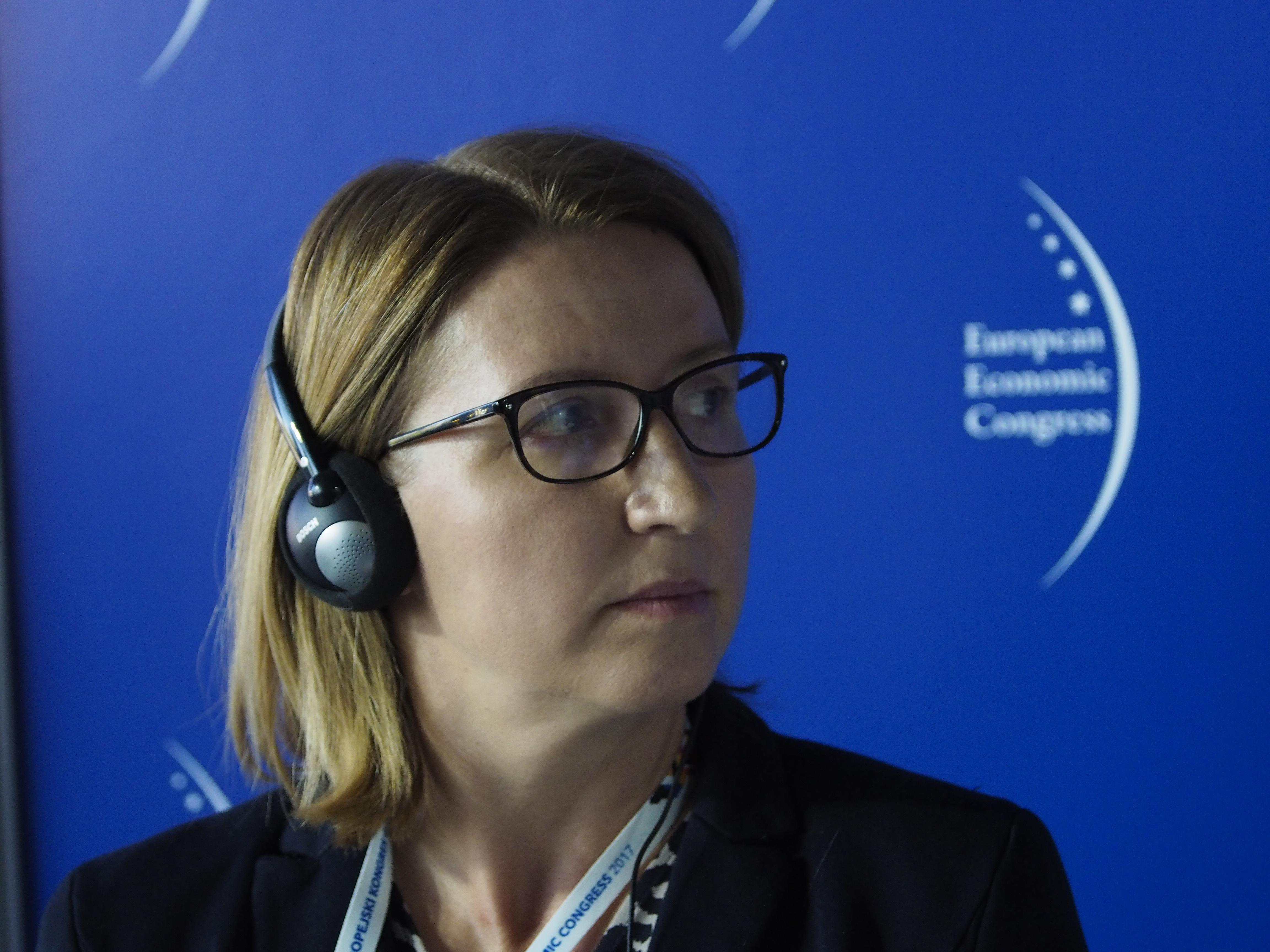 Poseł do Parlamentu Europejskiego Ivana Maletić oczekuje kontynuowania polityki spójności UE. Fot. PTWP