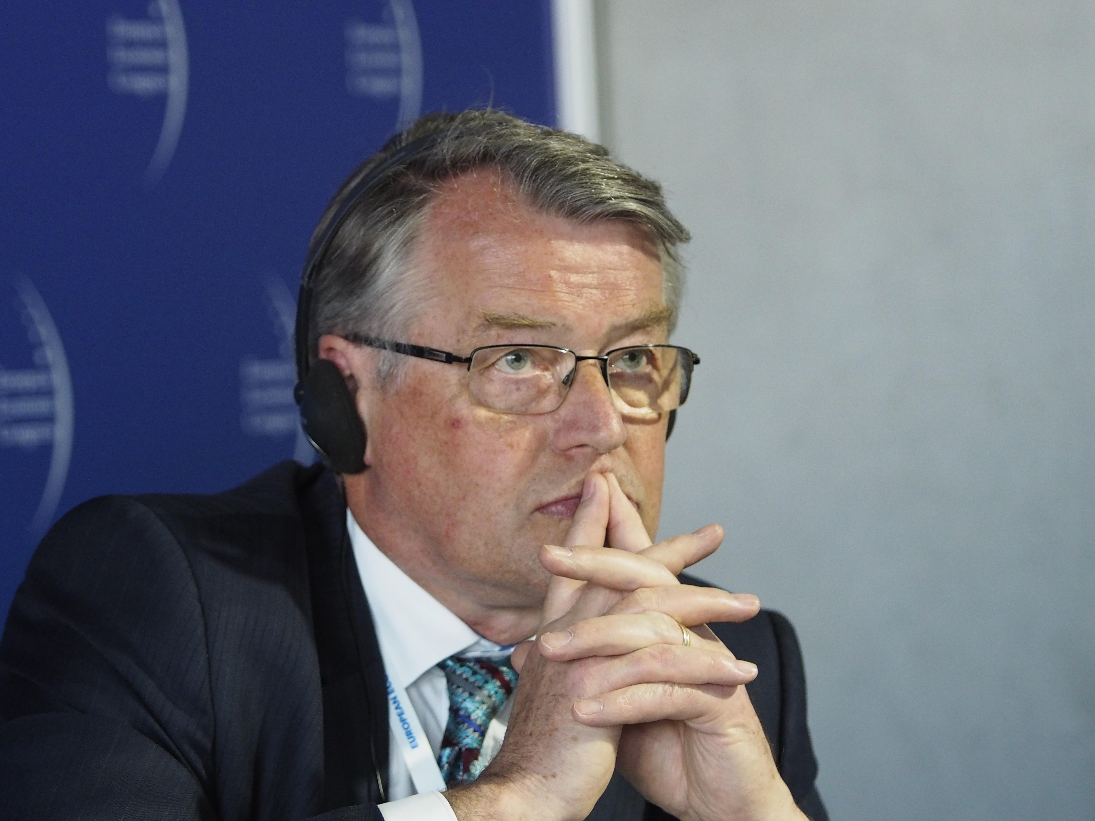 Poseł do Parlamentu Europejskiego Reimer Böge jest zdania, że nowa sytuacja w Unii Europejskiej poza zagrożeniami daje nam pewne szanse. Fot. PTWP