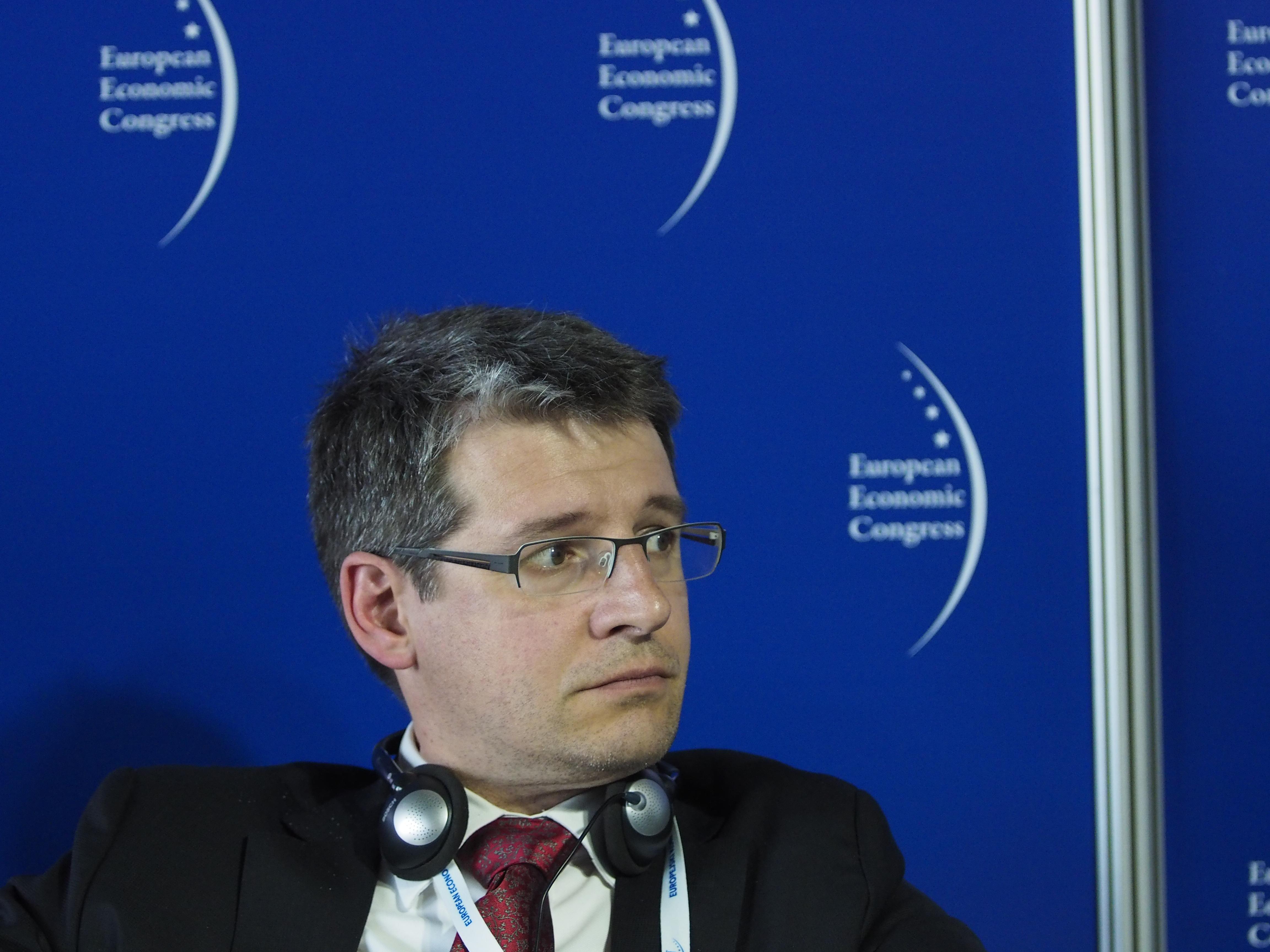 Jorge Núñez Ferrer z Centrum Studiów nad Polityką Europejską uważa, że budżet europejski jest nadal w XX wieku. Fot. PTWP