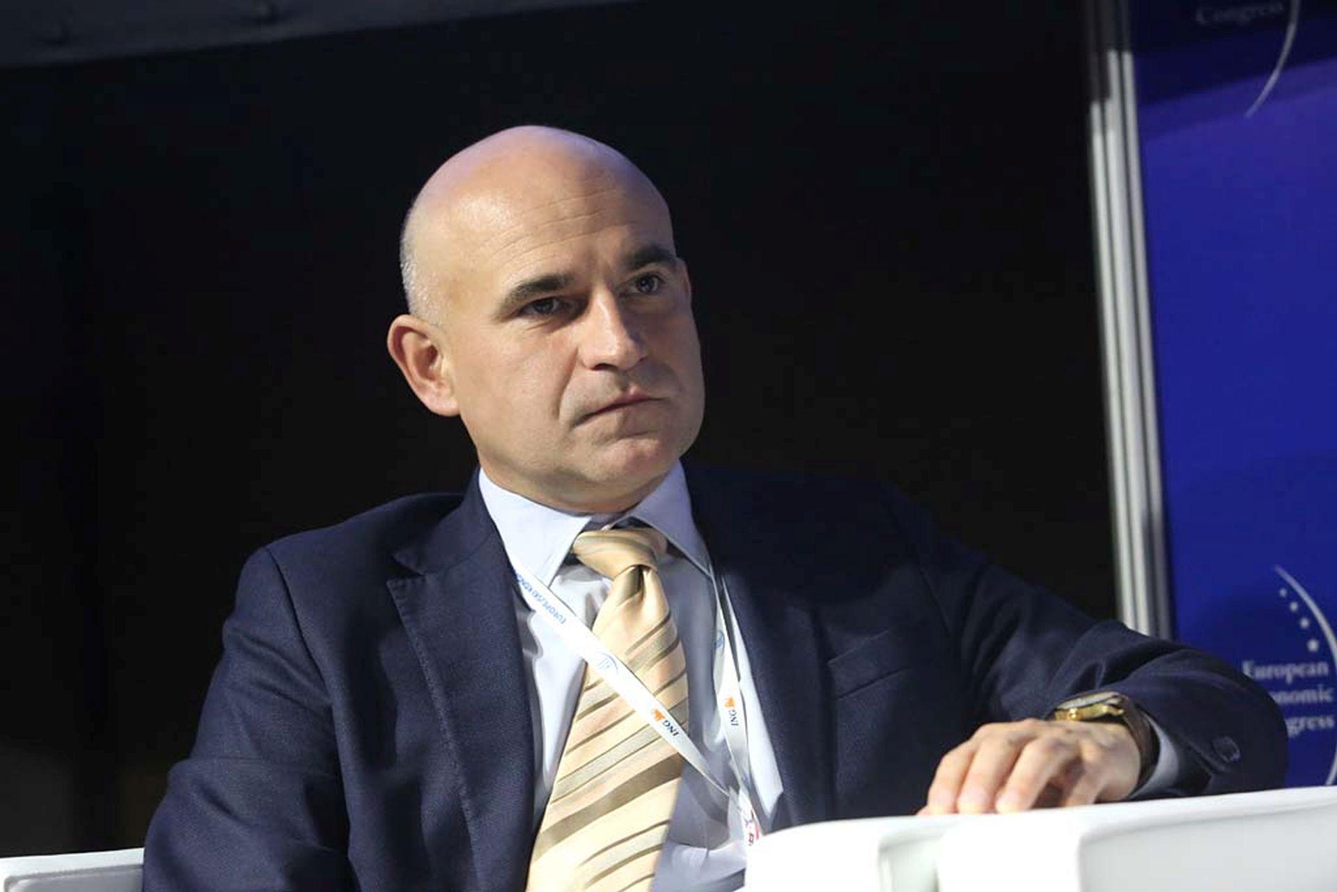 Mirosław Józefczuk, członek zarządu i dyrektor finansowy spółki Warbud.Fot. PTWP / EM