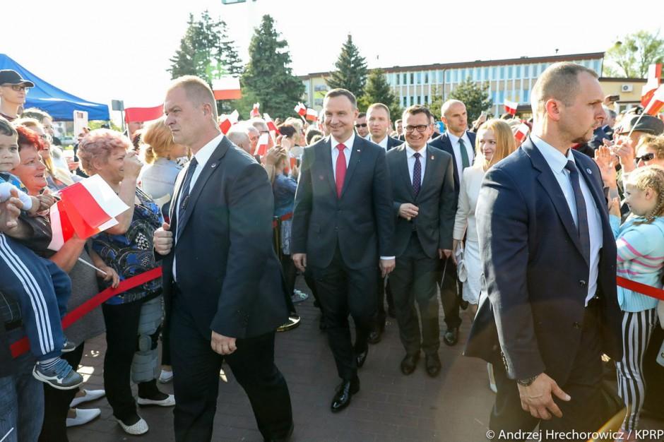 Prezydent: Województwo lubelskie zasługuje na porządną infrastrukturę