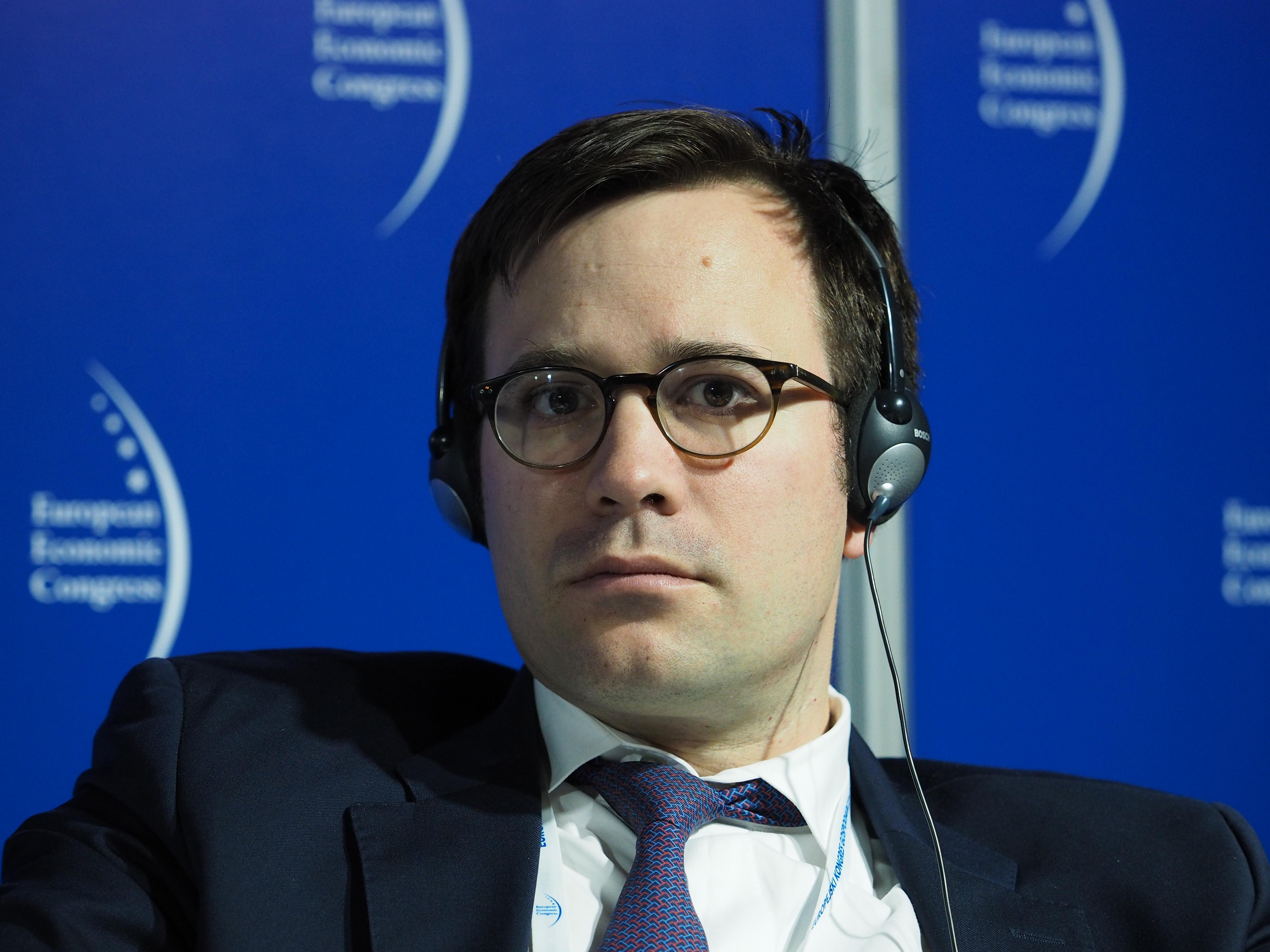 Vincent Metzler, Structured Finance Operations w Europejskim Banku Inwestycyjnym przypomina, że w Polsce ukazał się przetłumaczony poradnik po inwestycjach PPP, przygotowany przez Eurostat i Europejskie Centrum Wiedzy PPP. (fot. PTWP)