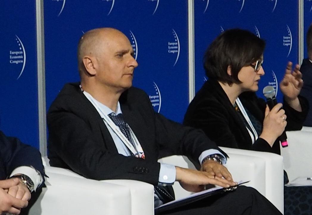 Stanisław Świątek, dyrektor w Budimex, zwrócił uwagę, że doświadczenie w zakresie PPP nie jest w Polsce duże i tyczy się to partnerów po obu stronach. (fot. PTWP)