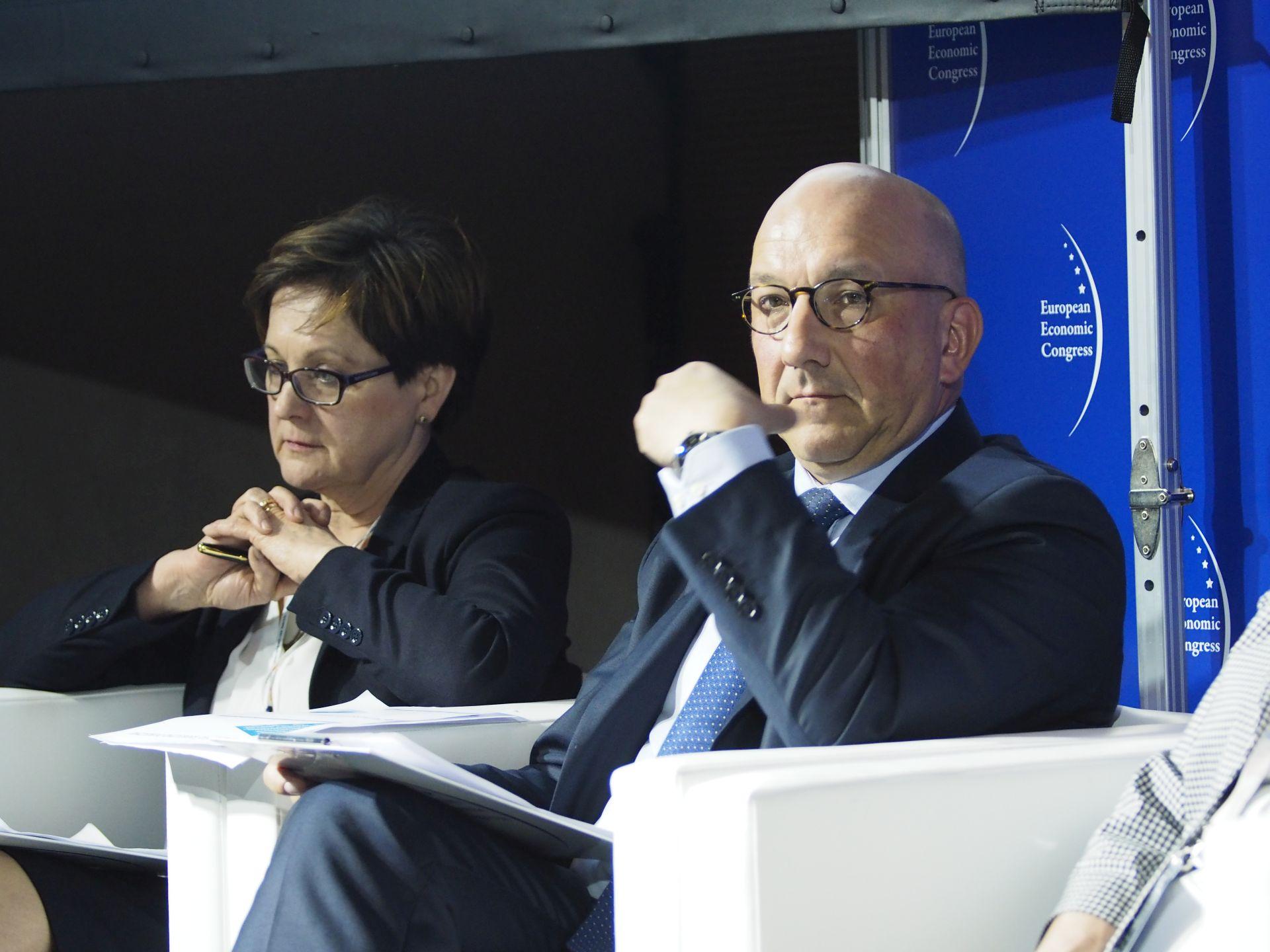 Barbara Sajnaj i Piotr Tomaszewski.Fot. PTWP