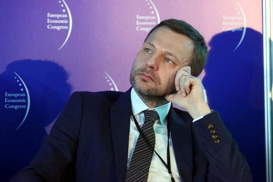 Kluczem do sukcesu jest właściwa współpraca miasta z sektorem prywatnym. Na zdjęciu Marcin Stolarz - prezes zarządu PTWP Event Center (fot. PTWP)
