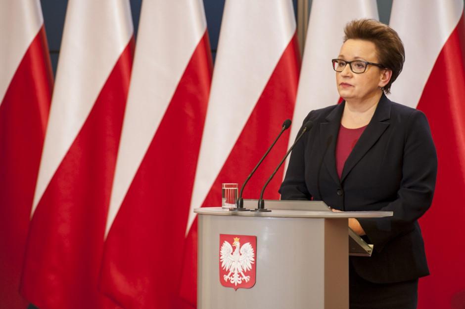 Anna Zalewska pisze do rodziców: Zakończyliśmy najważniejszy etap wprowadzania zmian