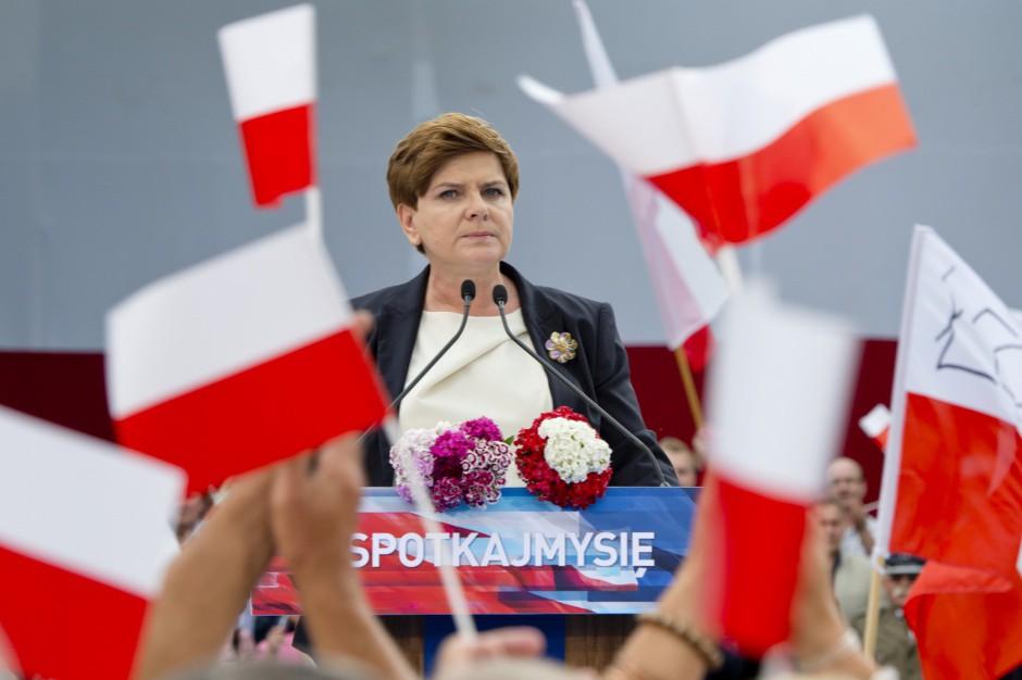 Beata Szydło: Gwarancje wsparcia dla rodzin w konstytucji