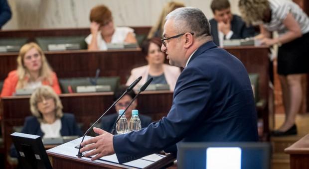 Henryk Mercik, członek Zarządu Województwa Śląskiego (fot.BP Tomasz Żak)