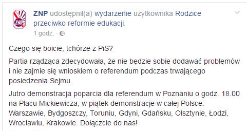 materiały - facebookpl/ZNP