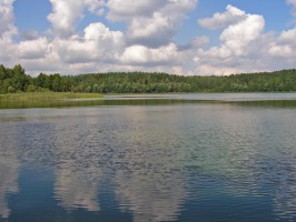 Jezioro Gołdap zostanie oczyszczone. Pomoże chińska glinka