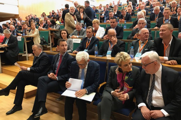 Konferencja na Wydziale Zarządzania UW w 27 rocznicę pierwszych wolnych wyborów (fot.twitter.com/Platforma_org)