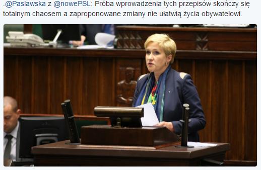 Twitter Sejm RP