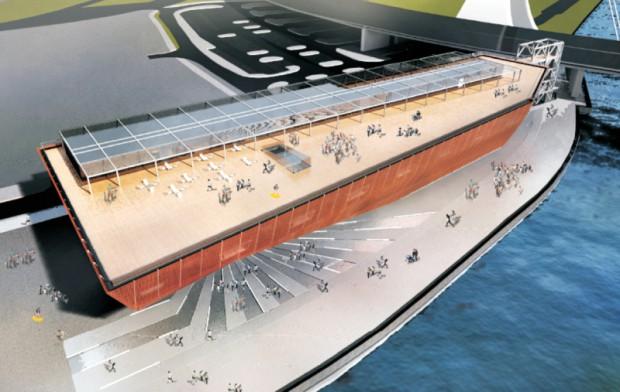 Zachodniopomorskie: Zbudują Centrum Nauki w kształcie statku