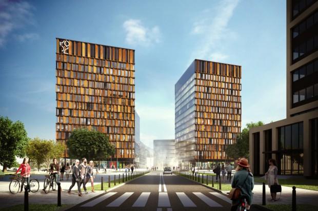 Łódź: ruszyła budowa Bramy Miasta. Tak ma wyglądać