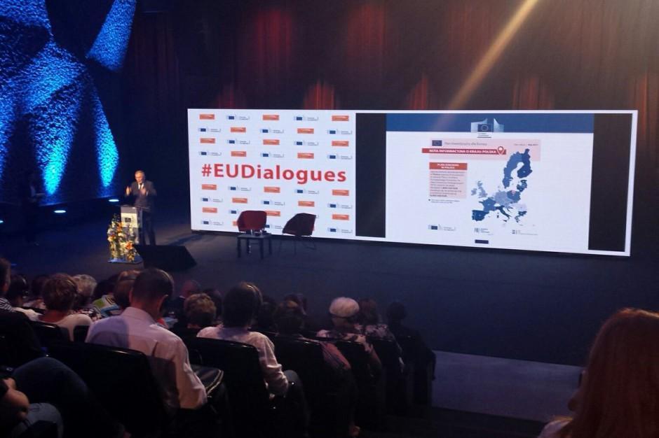Komisarz Vytenis Andriukaitis w Toruniu: ważna współpraca samorządów z Unią Europejską