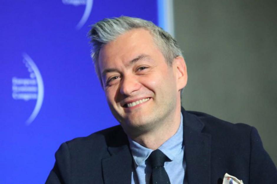 Robert Biedroń: Sondaże ze mną to tematy zastępcze. Właśnie za pierdoły, że niby chcę kandydować na prezydenta Polski, mnie atakują