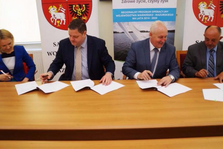 Samorząd woj. warmińsko-mazurskiego i Bank Gospodarstwa Krajowego wspierają przedsiębiorców