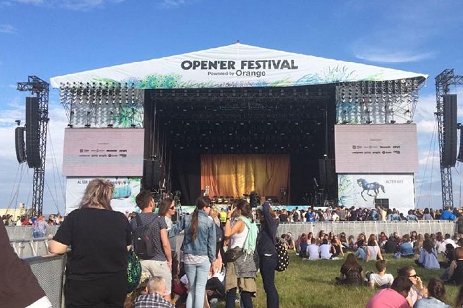 Karnety na Open'er festival dla radnych. CBA bada czy to łapówka