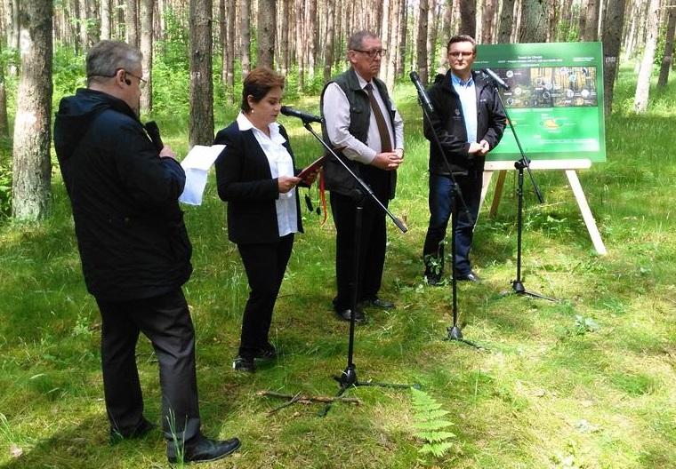O zwycięstwie Katowic poinformowano na konferencji w Tucznie. (fot. Twitter)