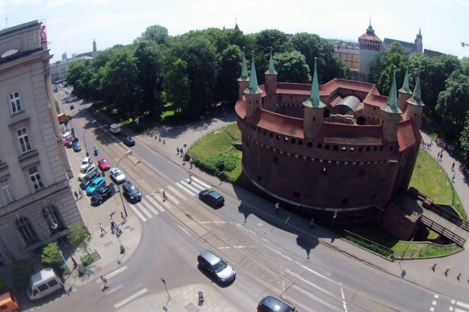 Kraków uspokoi ruch w centrum miasta