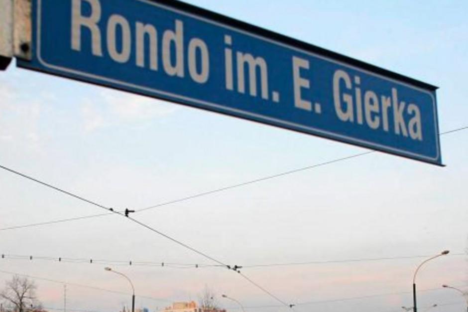 Sosnowiec: Zniknie rondo Edwarda Gierka? Mieszkańcy zdecydują co dalej z nazwą